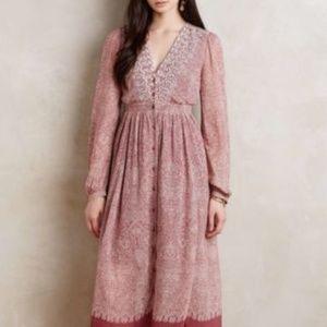 Floreat Anthropologie Kalala Maxi Dress